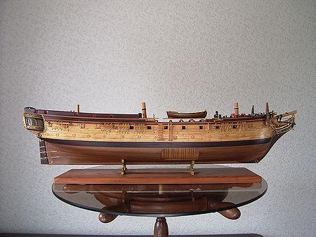 コンフェデラシー(Confederacy) 帆船模型