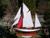 帆船模型完成品 シナーラ
