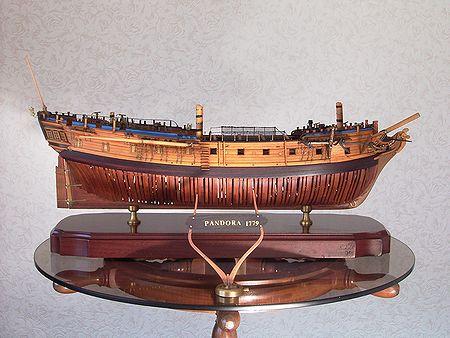 帆船模型完成品 パンドラ