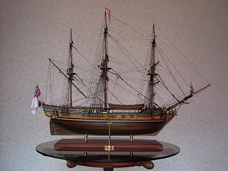 (Royal Caroline) 帆船模型