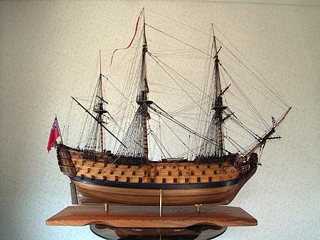 ロイヤルジョージ(Royal George) 帆船模型
