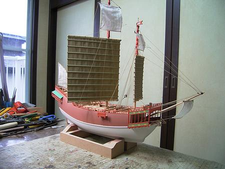 朱印船 船舶模型