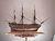 帆船模型完成品 HMS ビクトリー